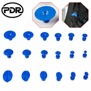 Us 18x Pdr Tools Glue Puller Tabs Paintless Dent Removal Accessories Dent Repair