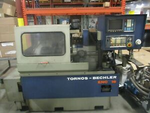 Tornos bechler Model Enc 16 Cnc Swiss type Lathe_as pictured_1st come 1st served