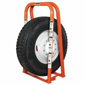 Esco 90408 Tire Inflation Cage Portable With Wide Base 2 Bar