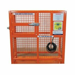 Esco 90422 Automatic Hd Tire Inflation Cage 50 Od
