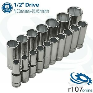 Blue Point 1 2 Deep Socket Set 10mm 32mm Incl Vat As Sold By Snap On
