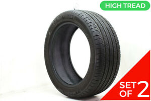 Set Of 2 Used 255 45r19 Michelin Pilot Sport A s Plus N1 100v 9 32