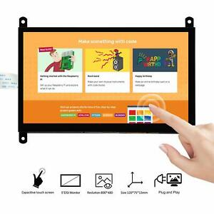 7 Inch Dsi Touch Screen Lcd Display 800x480 For Raspberry Pi 4 3 3b 3b