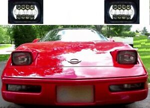 1984 1996 C4 Corvette Led Headlight Better Than Hid