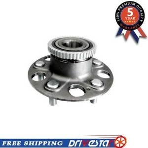 New Rear 5 Lug Wheel Hub Bearing Assembly For Honda Accord Acura Tl W Abs