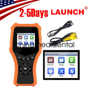 Usa Pro Launch Cr Hd Pro Heavy Duty Truck Diagnostic Tool Car Code Scanner Fda