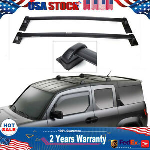 For 03 11 Honda Element Top Roof Rack Cross Bars Rail Us Luggage Cargo Carrier