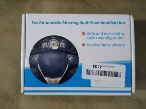 Automobile Steering Multi Functional Button For Universal Car Dvd Remote Control