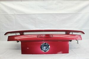 2006 Ford Mustang 5th Convertible 133 Rear Trunk Lid Panel Spoiler Redfire