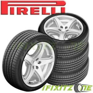 4 Pirelli P zero All Season Plus 215 45r17 91w Pzero Ultra High Performance Tire