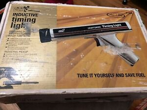 Vintage Sears Craftsman Timing Light 161 213400 W Cables Manual