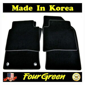 Black Carpet Floor Mats Set Front Rear For Toyota Prius 2016 2019