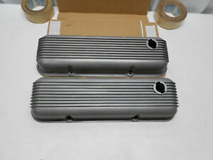 Vintage Cal Custom 40 2700 Aluminum Valve Covers Ford Mercury 302 351 Mustang