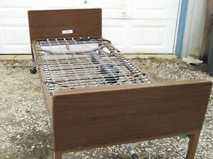 Hospital Bed Semi electric Home Care Bed Made By Medline Very Good Condition