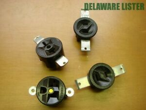 Lot 4x Electronic Component Electrical Plugs Outlet Port Terminal Sockets