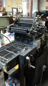 Offset Printing Press Ab Dick 360 Pro In Good Working Condition