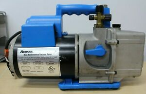 Robinair Cooltech 6 Cfm Two Stage Vacuum Pump Model 15600