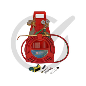Tote Oxygen Acetylene Oxy Welding Cutting Torch Kit With Tank