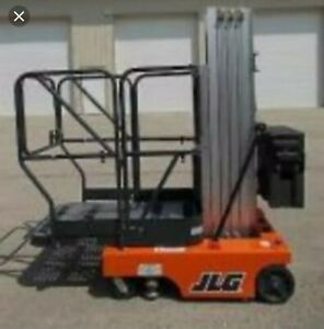 2003 Jlg 12sp Personnell Lift 18 Working Height Manlift Lift Stock Order Picker
