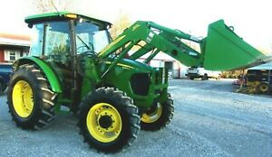2009 John Deere 5083e Tractor Cab 4x4 Loader delivery 2 00 Per Loaded Mile