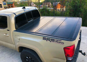 Hard Tonneau Cover With Rail For 2005 On Toyota Tacoma 5 60 Short Bed