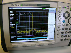 Anritsu Ms2721b With Option 20 Tracking Generator And More