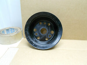 Real Gm 1963 74 Chevy 327 350 Single Deep Grove Crank Pulley 3751232 Bb Gmp
