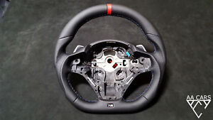 Steering Wheel Bmw F20 F30 Flat Bottom Extra Thick Paddles