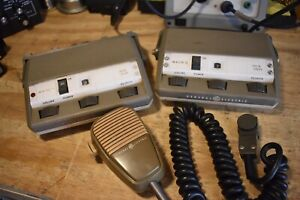 Ge Mastr Ii 2 And 4 Channel Remote Heads With One Microphone Ham Radio