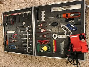 Military Electronic Tool Kit W Two Sided Wilson Travel Case Tk105a g usa Tools