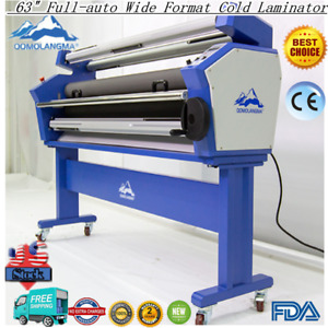 Qomolangma 63 Full auto Wide Format Cold Laminator With Heat Assisted