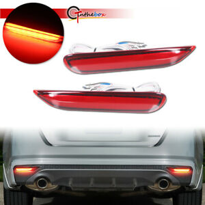 For Nissan Altima 2019 2020 Led Bumper W Sequential Turn Signal Brake Lights