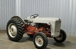 Ford 600 Tractor 32 Hp Gas