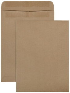 Quality Park Redi seal Catalog Envelope 9 X 12 Inches Kraft Brown Pack Of 100
