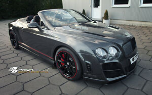 Bentley Continental Gt gtc Prior Design G1 Body Kit Genuine Tuv Certified