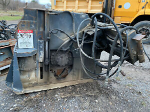 Bobcat Ws18 Concrete Saw Skid Steer Attachment 18 Depth High Flow