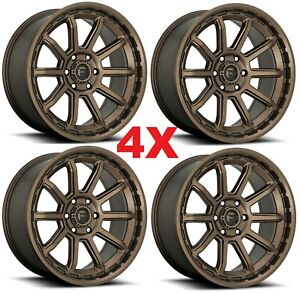 17 Bronze Wheels Rims Fuel Torque Method Rhino Gear