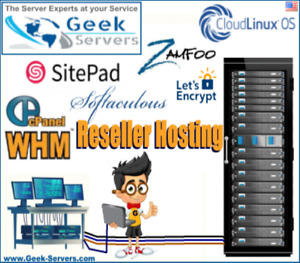 Reseller Cpanel whm Zamfoo Softaculous Sitepad Cloudlinux