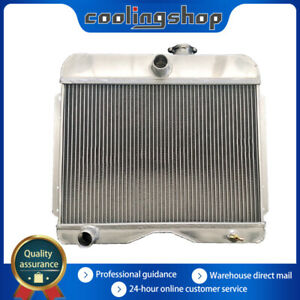 Xrt 3row Aluminum Radiator Fit 1946 1964 Jeep Station Wagon Willys pickup truck