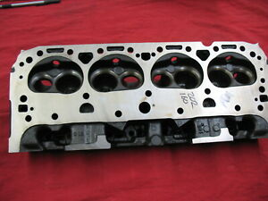 327 Small Block Chevy 291 Head F 13 8 Date 3917291 2 02 1 60