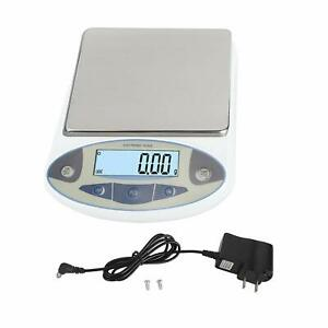 Digital Analytical Electronic Lab Balance Scale Gold Jewelry Scales 5000g 0 01g