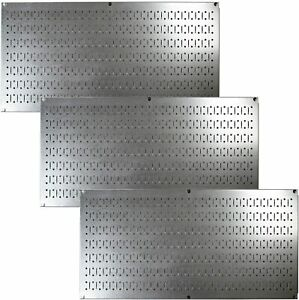 3 Pack Wall Control Pegboard Value Pack Garage Shop Organizer 16 In X 32 In New