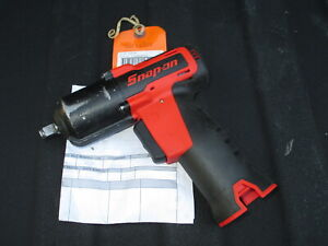 Snap On Ct761 Red 14 4v 3 8 Dr Microlithium Cordless Impact Wrench Refurbished