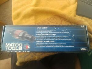Matco Tools Mt2814 1 4 Composite Air Ratchet New