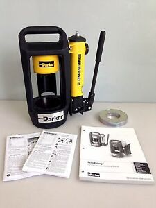Parker Hannifin Minikrimp 94c 001 pfd Hose Crimping Machine For Hydraulics