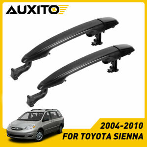 2x For 04 10 Toyota Sienna Outside Exterior Sliding Left Right Door Handle Lh Rh