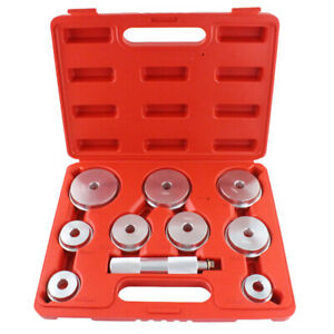 10pcs Auto Bearing Race Seal Driver Wheel Axle Bearings Puller Installation Kit