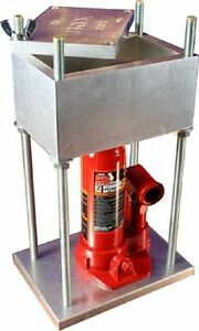 HTP BRICK PRESS #1 Best Selling 4 Ton Press in the World 8000 Lbs of Force $404.00