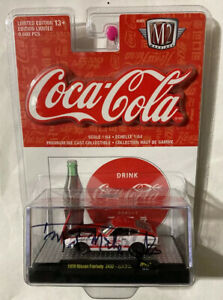 "M2 Machines Coca Cola 1970 Nissan Fairlady Z432 Autographed By ""Mad Mike"" Taylor"