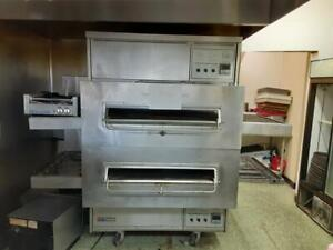 Middleby Marshall Ps360 Natural Gas Conveyor Pizza Oven